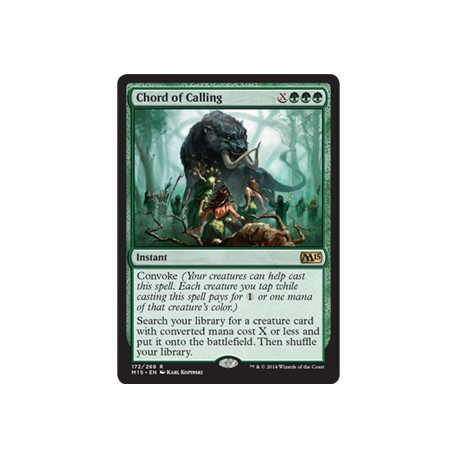 Chord of Calling M15 NM - silee cards