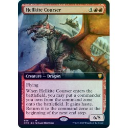 Hellkite Courser (Extended) FOIL CMR NM