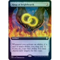 Rings of Brighthearth (Extended) FOIL CMR NM
