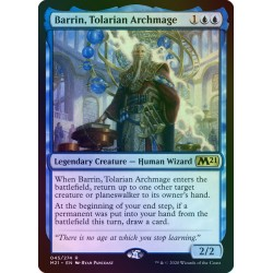 Barrin, Tolarian Archmage FOIL M21 PROMO NM