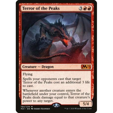 Terror of the Peaks M21 PROMO NM