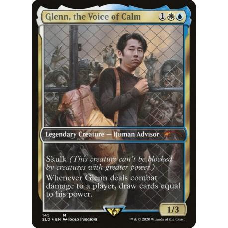 Glenn, the Voice of Calm FOIL SLD NM