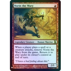 Norin the Wary FOIL TSP (Mystery) NM