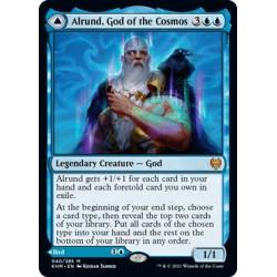 Alrund, God of the Cosmos // Hakka, Whispering Raven KHM NM