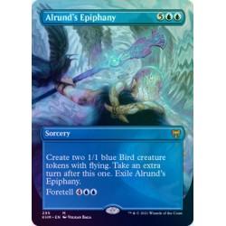 Alrund's Epiphany (Borderless) FOIL KHM NM