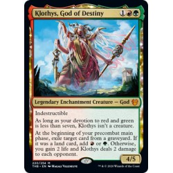 Klothys, God of Destiny THB NM