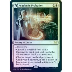 Academic Probation FOIL STX NM