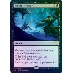 Baleful Mastery FOIL STX NM