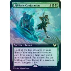 Basic Conjuration (Extended) FOIL STX NM