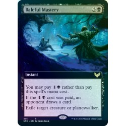 Baleful Mastery (Extended) FOIL STX NM